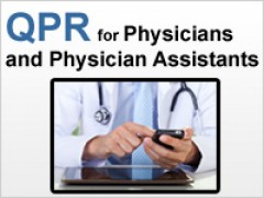 QPR for Physicians, Physician Assistants, Nurse Practitioners, and others