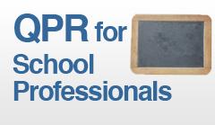 QPR for School Health Professionals