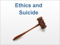 Ethics and Suicide